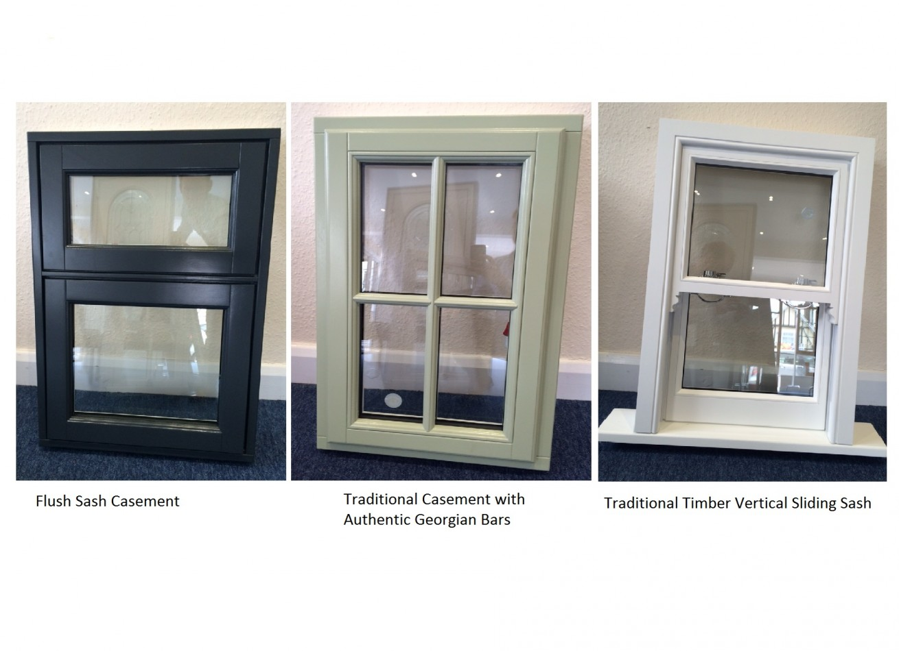 New Range of Traditional Solid Timber Sash windows.